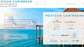 Caravana virtual impulsa destinos del Caribe mexicano en Europa
