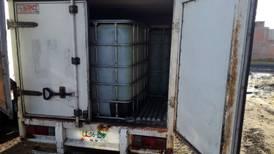 Detectan venta de combustible robado en Guerrero