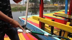 Nanoburbujas, las elegidas de los investigadores del IPN para limpiar el agua en Xochimilco