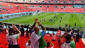 Sin sus aficionados, Italia remará contracorriente en la final de la Eurocopa 2020
