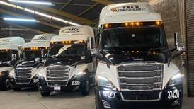 Adquiere HG Transportaciones 10 nuevos Cascadia Freightliner