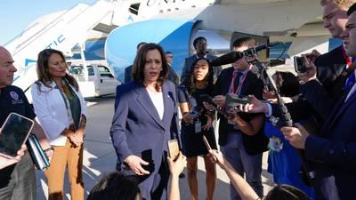 Kamala Harris llega a El Paso, Texas: 'Siempre estuvo en los planes visitar la frontera con México'