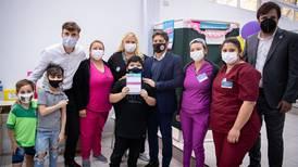 Argentina inicia vacunación COVID a niñas y niños de entre 3 y 11 años
