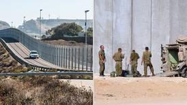 Franja de Gaza es quizá el futuro de la frontera México-EU... ¿eso es bueno o malo?