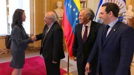 Tarre asume como embajador de Venezuela en la OEA