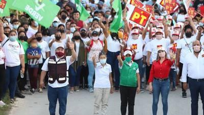 Intentan agredir a candidata de Morena en Puerto Morelos, Quintana Roo