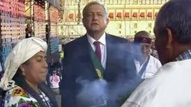 AMLO ofrece discurso como presidente en el Zócalo