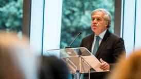 Salida de Venezuela de la OEA queda interrumpida: Almagro