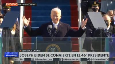 Inicia oficialmente el Gobierno de Joe Biden, presidente número 46 de Estados Unidos
