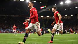 Cristiano Ronaldo se hace presente en la remontada del Manchester United sobre Atalanta