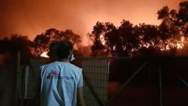Fuego en Moria: Si la única forma de lograr tu libertad es quemando tu casa, está claro que algo no funciona