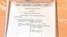 Ficha roja para Gastón Azcárraga