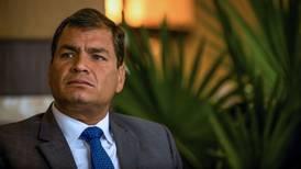 Fiscalía de Ecuador solicita prisión preventiva contra expresidente Rafael Correa