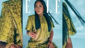 Yalitzia Aparicio brilla en portada de Elle