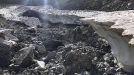 Glaciares en los Pirineos se están reduciendo a manchas de hielo