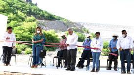 AMLO y Pavlovich inauguran Presa Bicentenario en Sonora