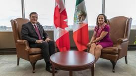 Mexico y Canadá buscarán eliminar aranceles de EU con firma de UMSCA