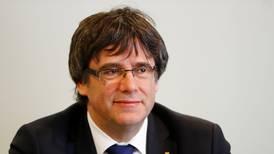 Puigdemont no podrá ir a elecciones europeas