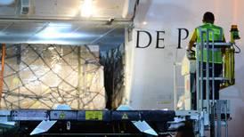 Aterriza en México segundo vuelo procedente de China con 11 toneladas de equipo médico