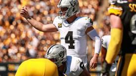 ¡Negro y plata! Raiders vence a Steelers en la Semana 2 de la NFL