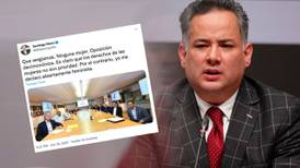 Santiago Nieto 'revienta' contra Va Por México: los acusa de machistas