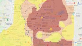 Consulta la intensidad sísmica de la zona donde vives en CDMX con este mapa