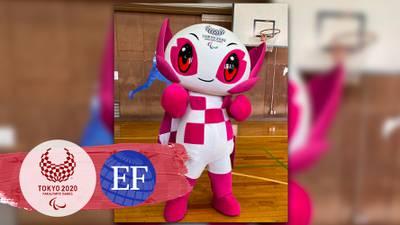 Someity, la mascota oficial de los Juegos Paralímpicos de Tokio 2020